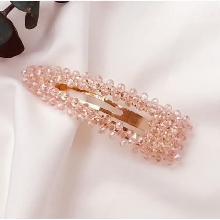 Spinka do włosów z kryształkami róż SP87R