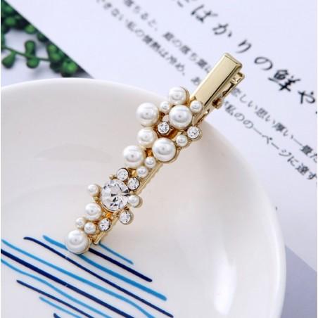 Spinka do włosów z perełkami SP102B