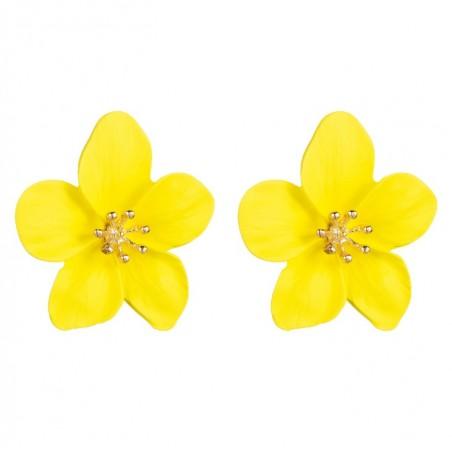 Kolczyki przy uchu Kwiaty Floral K1488ZO