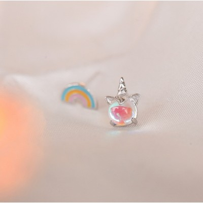 Silver earrings 925 KST1424