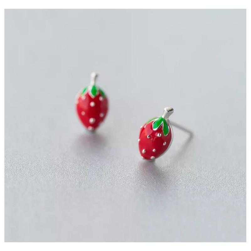 Silver earrings 925 KST1419