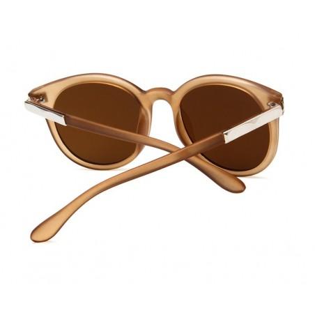Okulary przeciwsłoneczne plastik MOCCA OK205BR