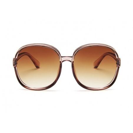 Okulary przeciwsłoneczne plastik OK200WZ2 brązowe
