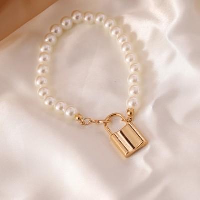 Bransoletka sztuczne perły...