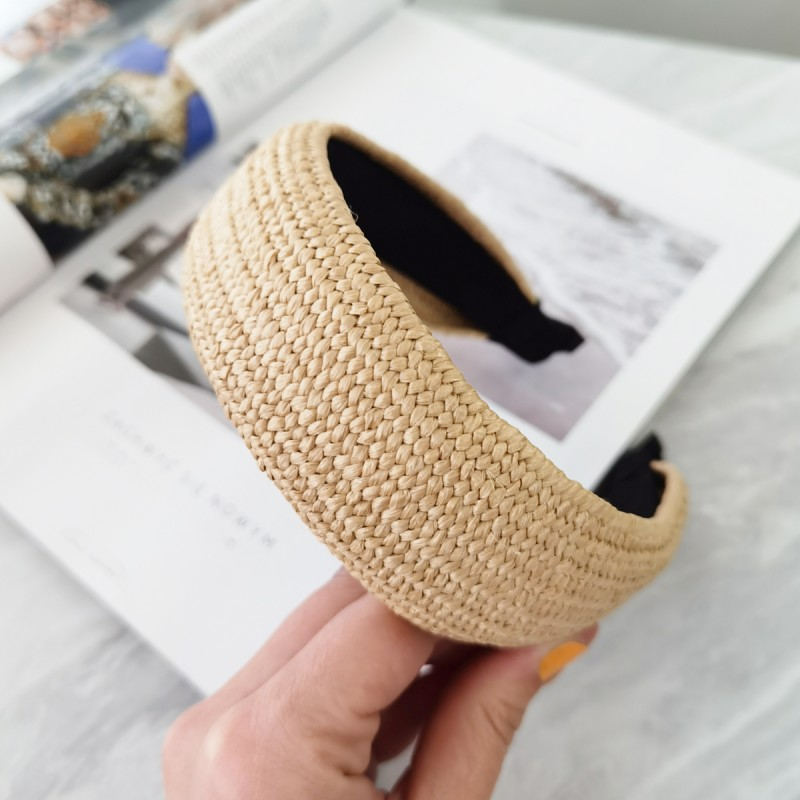 Opaska turban wiklinowa prosta O288