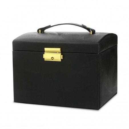 Szkatułka na biżuterię kuferek etui organizer pudełko PD102CZ