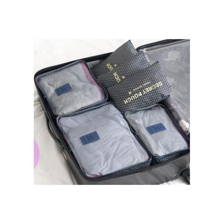 Organizer for suitcases, set of 6 sachets KS21WZ4