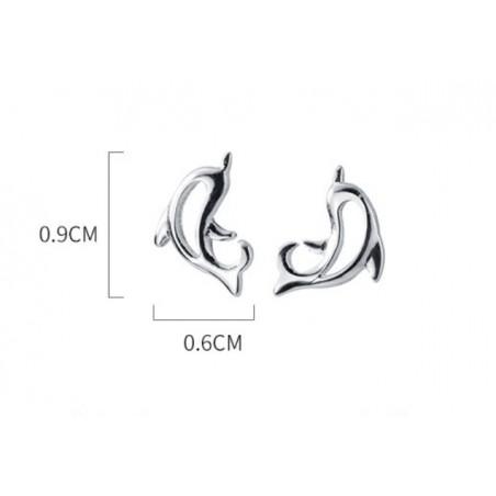 Kolczyki srebro 925 MERMAID KST1666