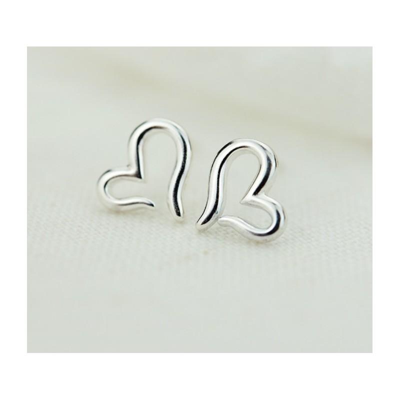 Kolczyki srebro 925 SERCA KST1658