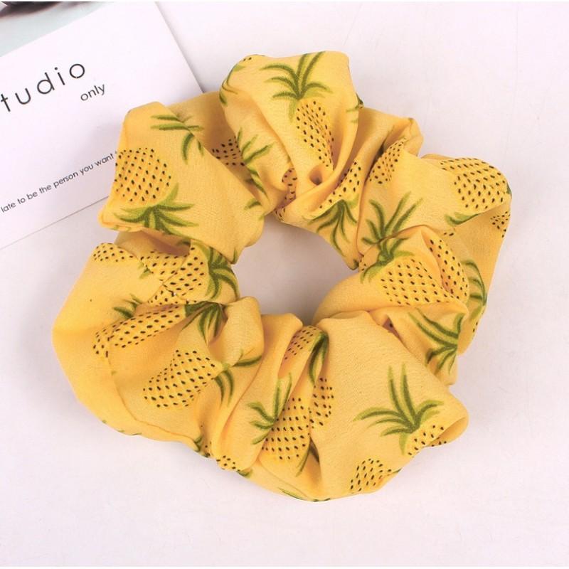 Gumka do włosów apaszka ananasy PIN UP GUM41WZ2