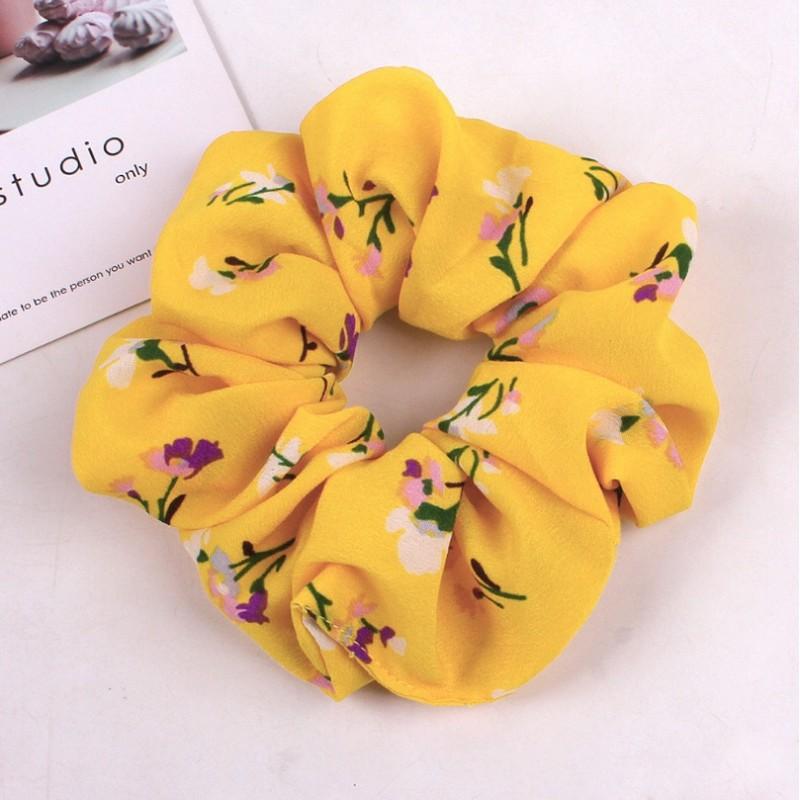 Gumka do włosów apaszka kwiaty PIN UP GUM41WZ1