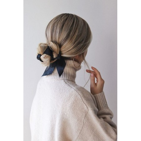 Gumka do włosów apaszka krótka z perełka PIN UP GUM33WZ1
