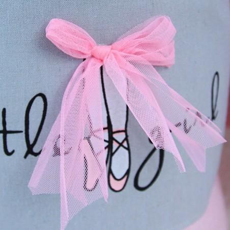copy of Pojemnik na zabawki, kosz, worek na pranie różowa baletnica OR29WZ1