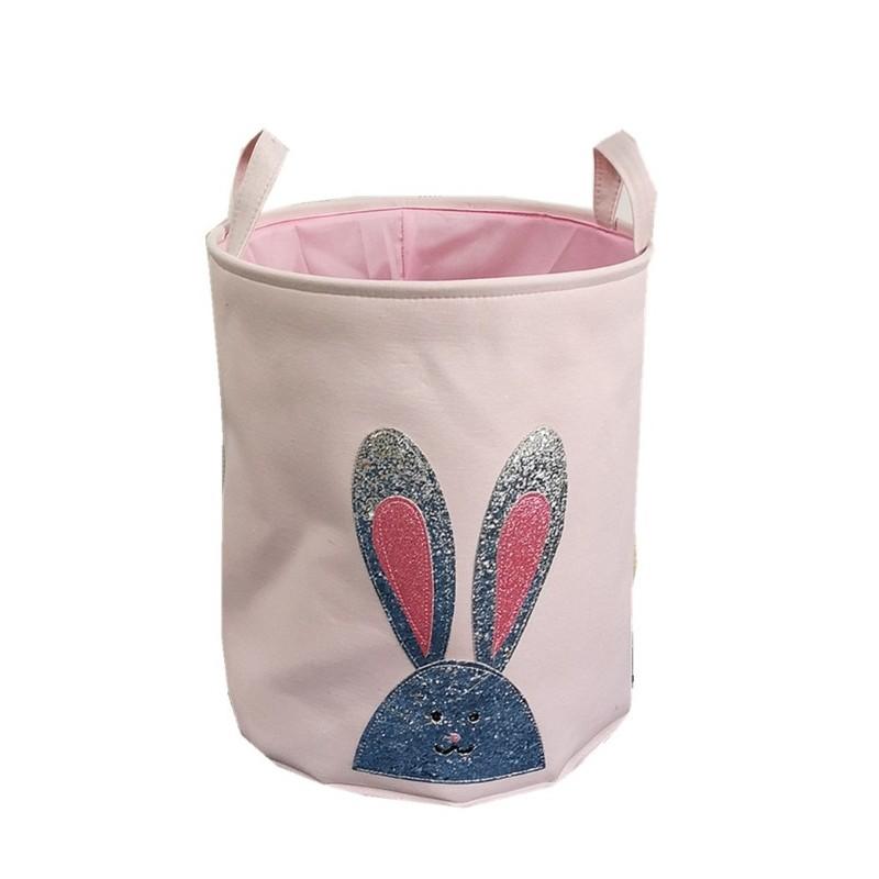 Pojemnik na zabawki, kosz, worek na pranie królik OR29WZ12