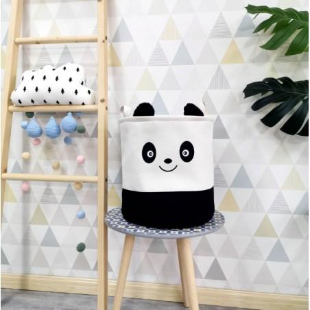 Pojemnik na zabawki, kosz, worek na pranie panda OR29WZ14