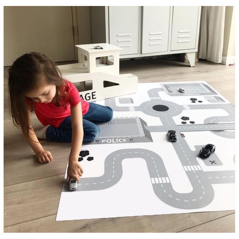 Mata Dziecięca, dywanik do pokoju dziecka130x100 cm D17