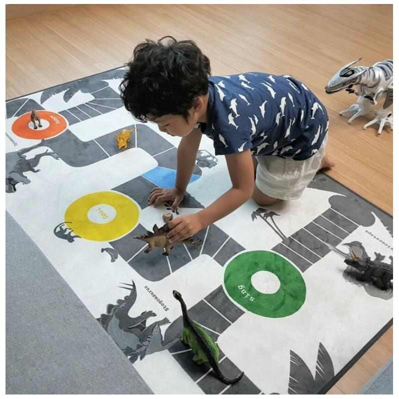 Mata Dziecięca, dywanik do pokoju dziecka 100x140 cm D18