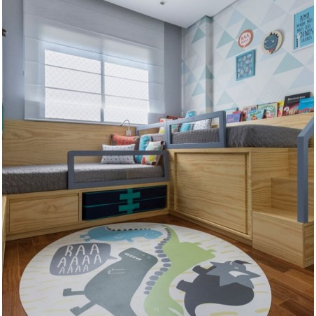 Mata Dziecięca, dywanik do pokoju dziecka 120 cm D19
