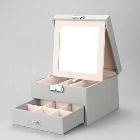 copy of Szkatułka kuferek etui organizer na biżuterię STENBERG różowa PD70SZ