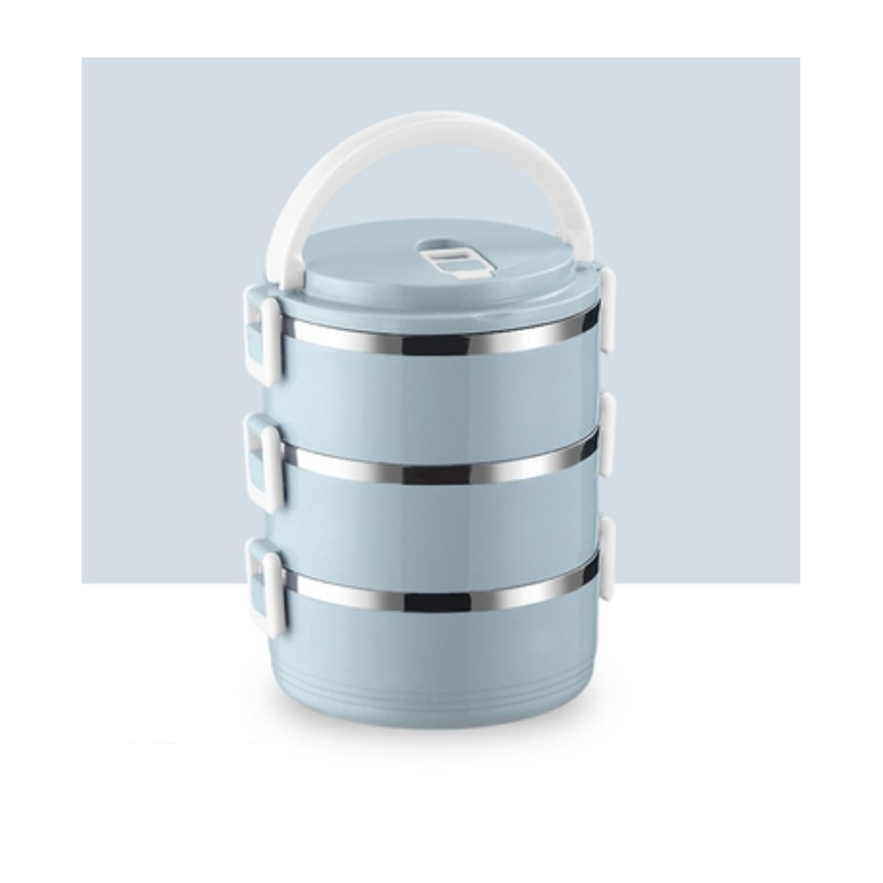 Pojemnik do przenoszenia żywności LUNCH BOX piętrowy 2,1L OR54N