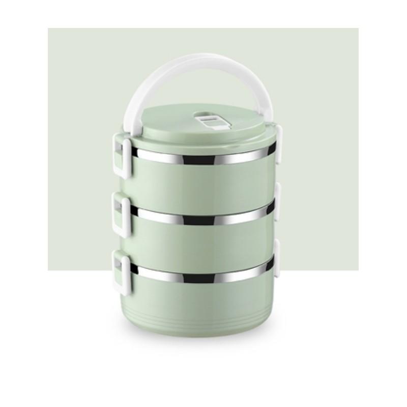 Pojemnik do przenoszenia żywności LUNCH BOX piętrowy 2,1L OR54ZIE