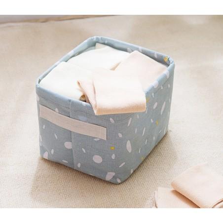 Pojemnik na zabawki kosz, worek na pranie róż OR52RZO