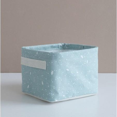 Pojemnik na zabawki kosz, worek na pranie niebieski OR53N