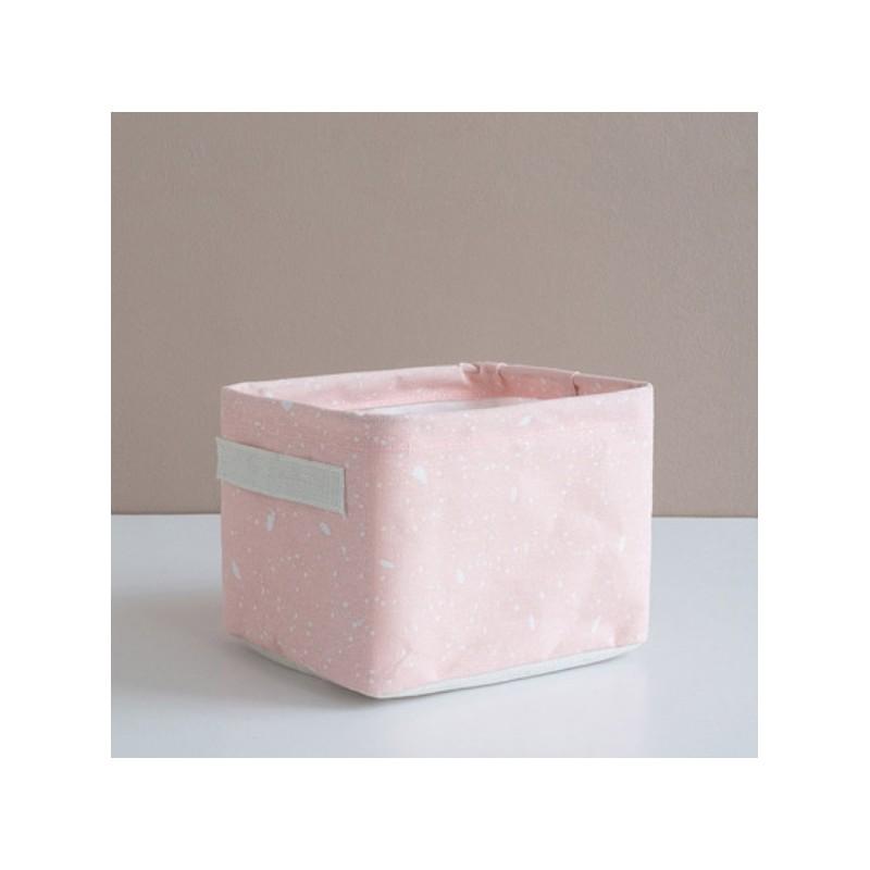 Pojemnik na zabawki kosz, worek na pranie róż OR53R