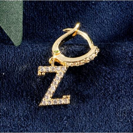 Kolczyki pozłacane literka Z KST1683Z