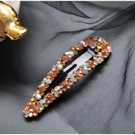 Spinka pyk do włosów kryształowa duża SP119K