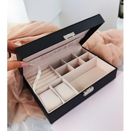 Szkatułka na biżuterię, etui, organizer, pudełko PD117