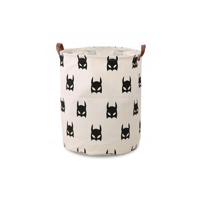 Pojemnik na zabawki kosz, worek na pranie batman 35x45 cm OR2WZ2