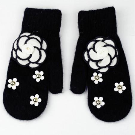 Rękawiczki CUTE czarne REK118