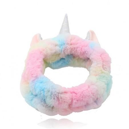 Opaska kosmetyczna unicorn ozdobna O381