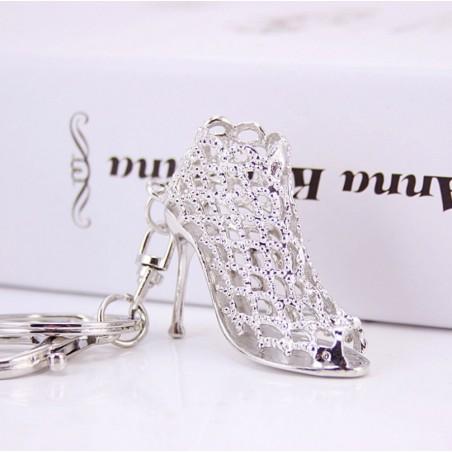 Brelok srebrny sandałek BRL16S