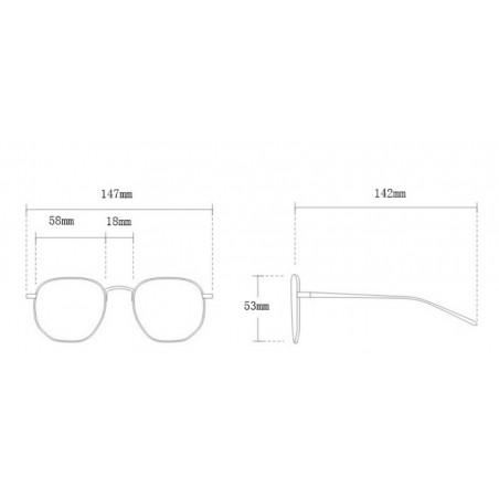 Okulary przeciwsłoneczne z kryształkami ombre OK213WZ2