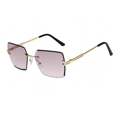 Okulary przeciwsłoneczne z kryształkami ombre OK214WZ2