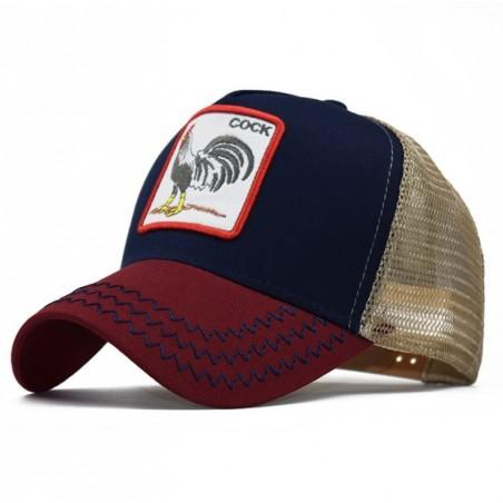 Czapka z daszkiem baseball cap z siatką CZ20WZ1