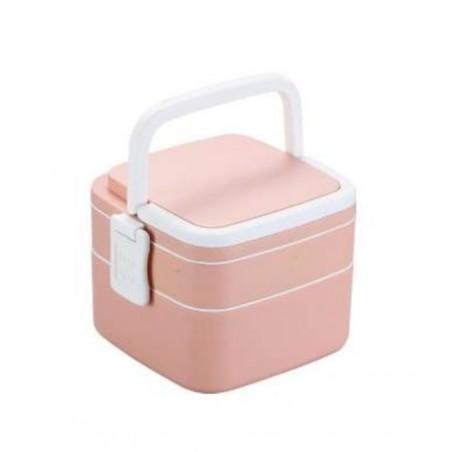 Pojemnik do przenoszenia żywności LUNCH BOX piętrowy 1000ml OR67WZ2