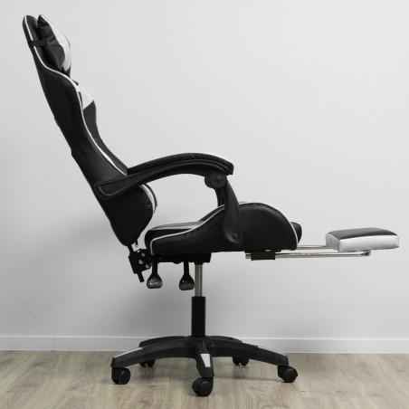 Fotel gamingowy obrotowy z podnóżkiem EC GAMING KO02B