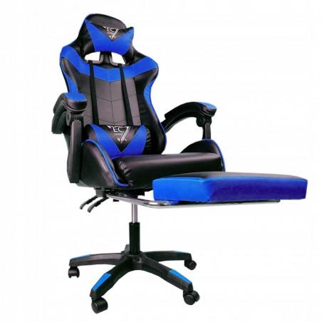 Fotel gamingowy obrotowy z podnóżkiem EC GAMING KO02N