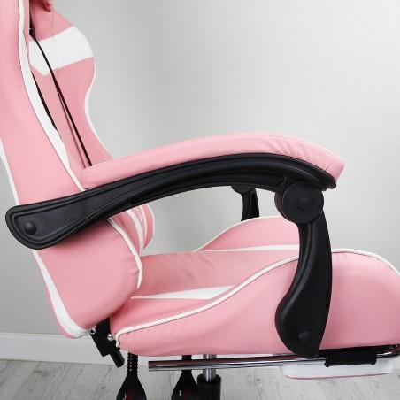 Fotel gamingowy obrotowy z podnóżkiem EC GAMING KO02R