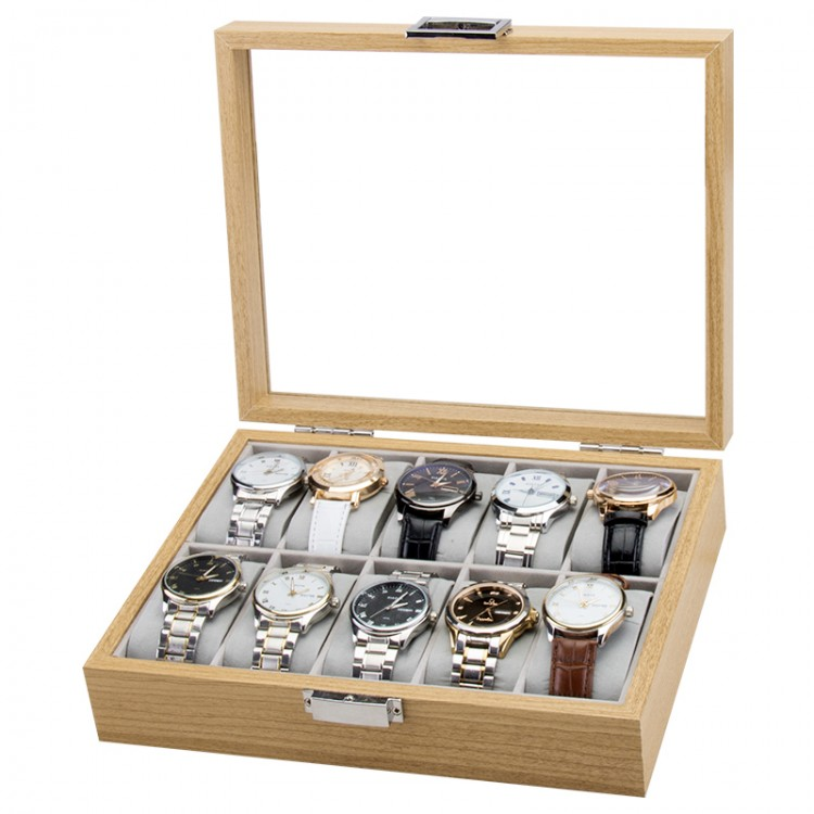 Szkatułka na 10 zegarków PDMDF05