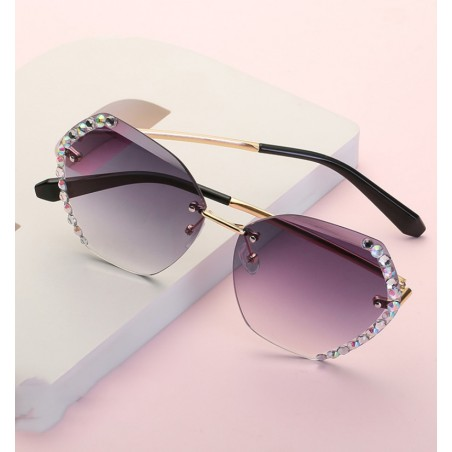 Okulary przeciwsłoneczne z kryształkami OK212WZ2