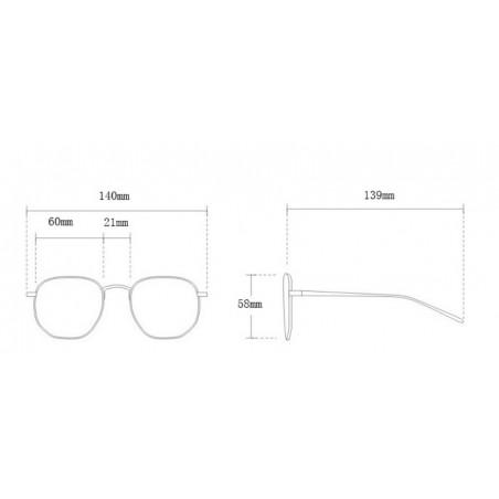 Okulary przeciwsłoneczne z kryształkami OK212WZ1