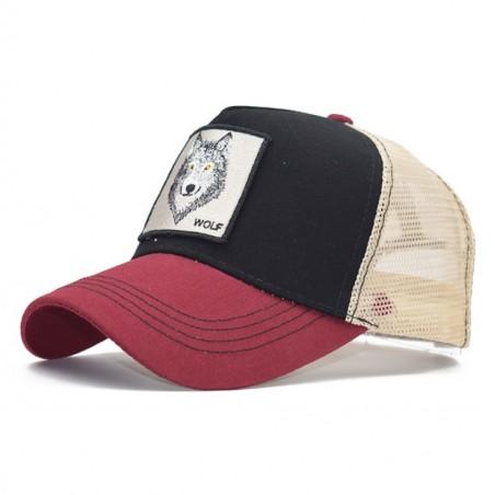 Czapka z daszkiem baseball cap z siatką CZ18WZ1