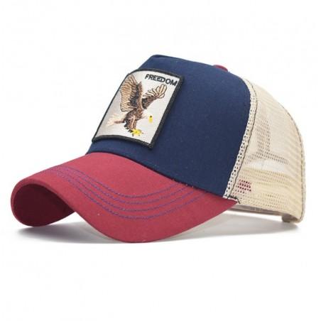 Czapka z daszkiem baseball cap z siatką CZ19WZ1