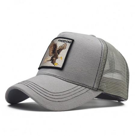 Czapka z daszkiem baseball cap z siatką CZ19WZ2