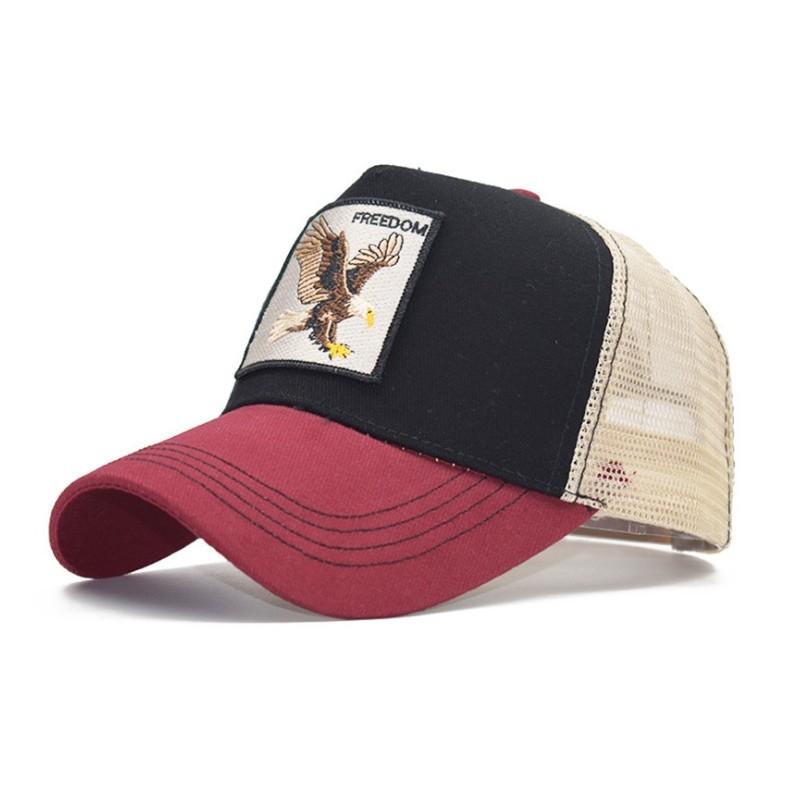 Czapka z daszkiem baseball cap z siatką CZ19WZ3