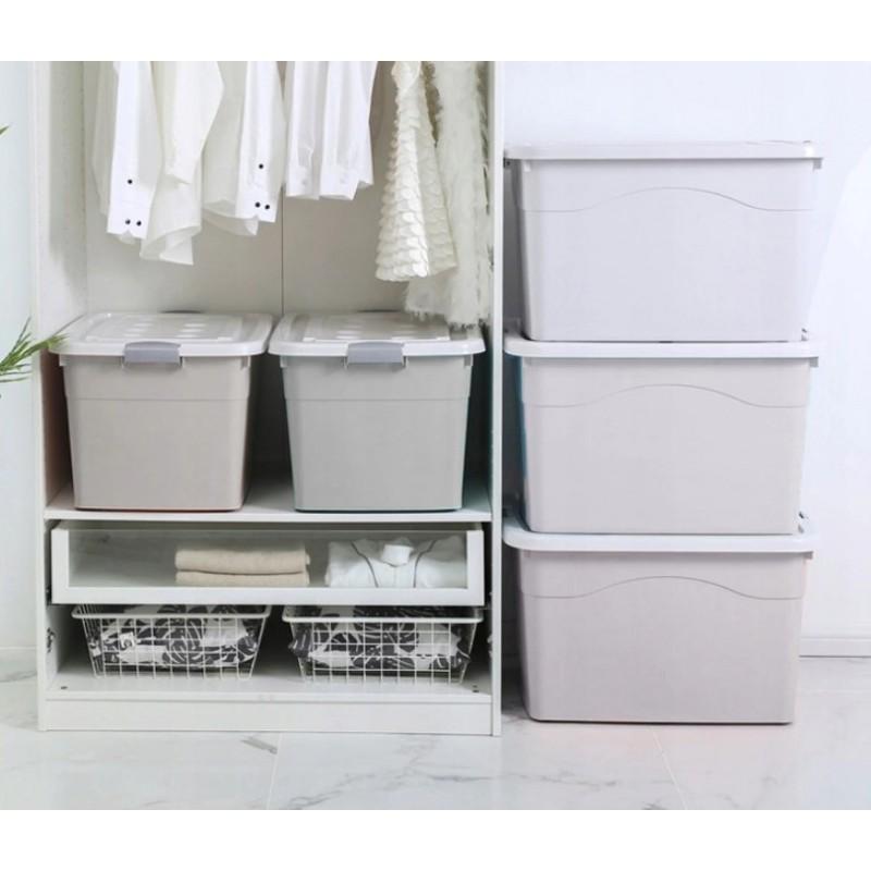 Organizer na akcesoria lub zabawki z pokrywą na kółkach 50L OR73WZ1